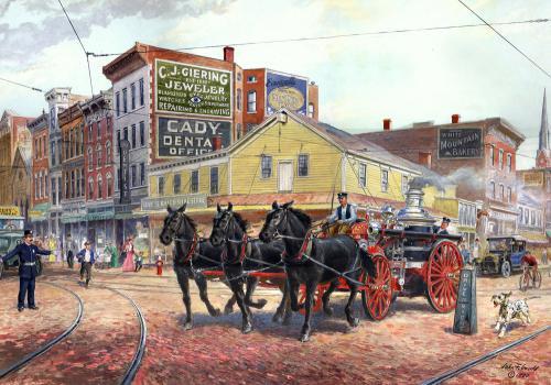 McQuoid Steamer, Middletown, New York