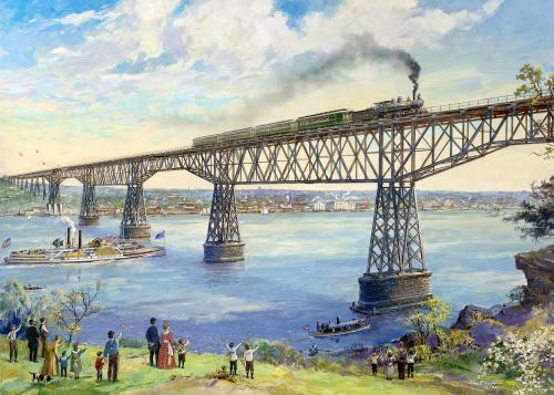 The Poughkeepsie Railroad Bridge